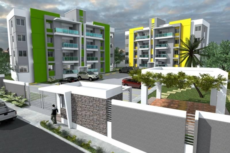 Apartamentos nuevos en la Jacobo Majluta