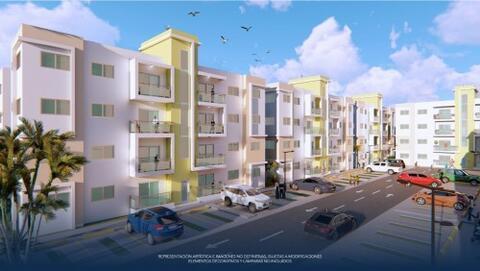 Tenemos Apartamentos Con Patio En La Autopista de San Isidro