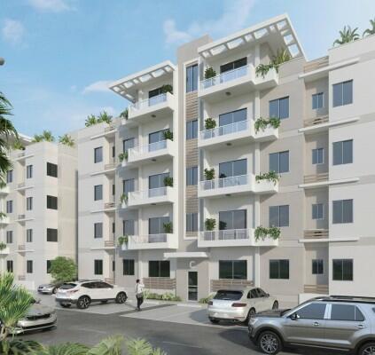Apartamento De Venta En 1er Nivel, Ave. Independencia