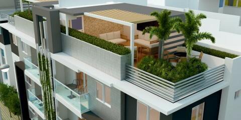 Vendo Económico Apartamento Con Terraza En Aut. San Isidro