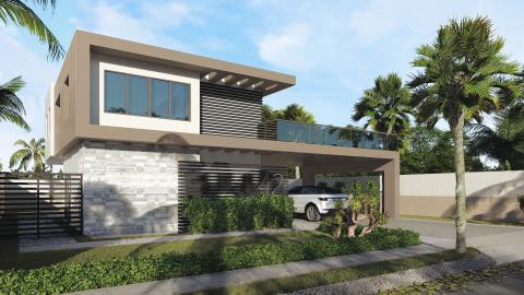 Amplia Villa de 2 Niveles en Punta Cana