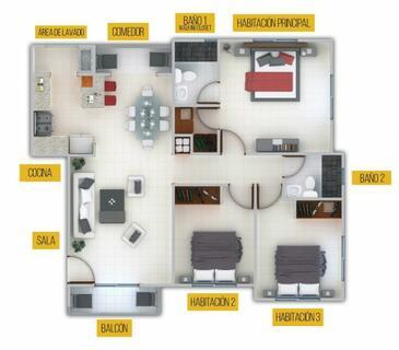 El Apartamento Que Buscabas En Aut. San Isidro, Lo tenemos!
