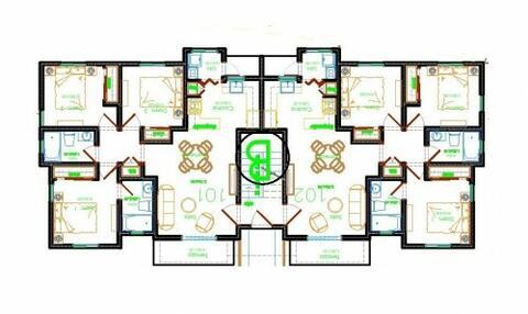 Apartamento por Villa Aura