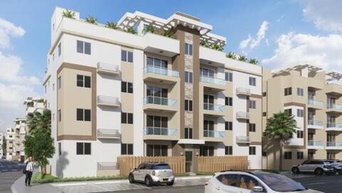 Económico Apartamento Con Cuarto De Servicio En San Isidro