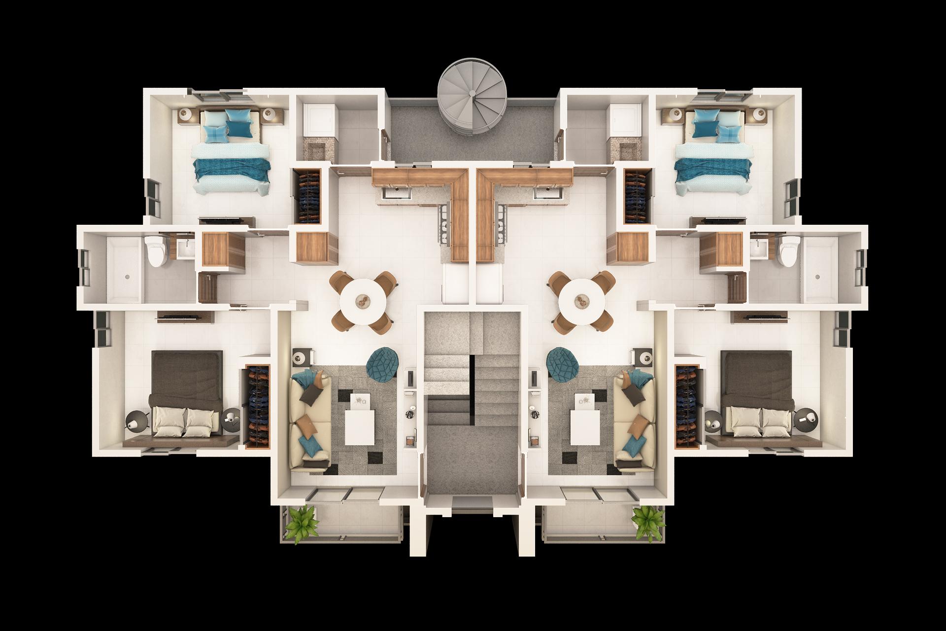 Apartamento Con Patio o Terrza En Arroyo Hondo