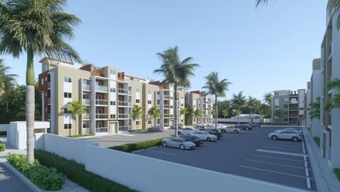 Vendo Apartamento Con Patio En Colinas del Arroyo, Ave. Jacobo Majluta