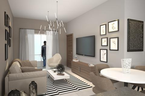 Nuevos Apartamentos En Arroyo Hondo Con 2 Dormitorios