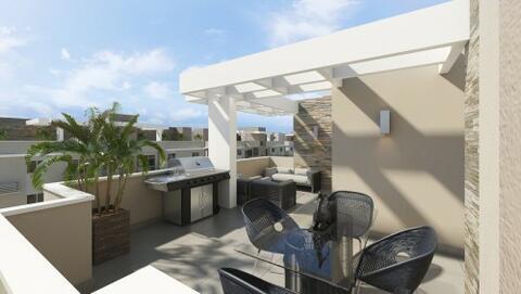 Semi-Penthouse De 2 Dormitorios Con Terraza, Aut. San Isidro