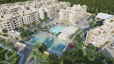 Apartamento De 2 DormitorioS En El 1er Piso Con Área de Jardín