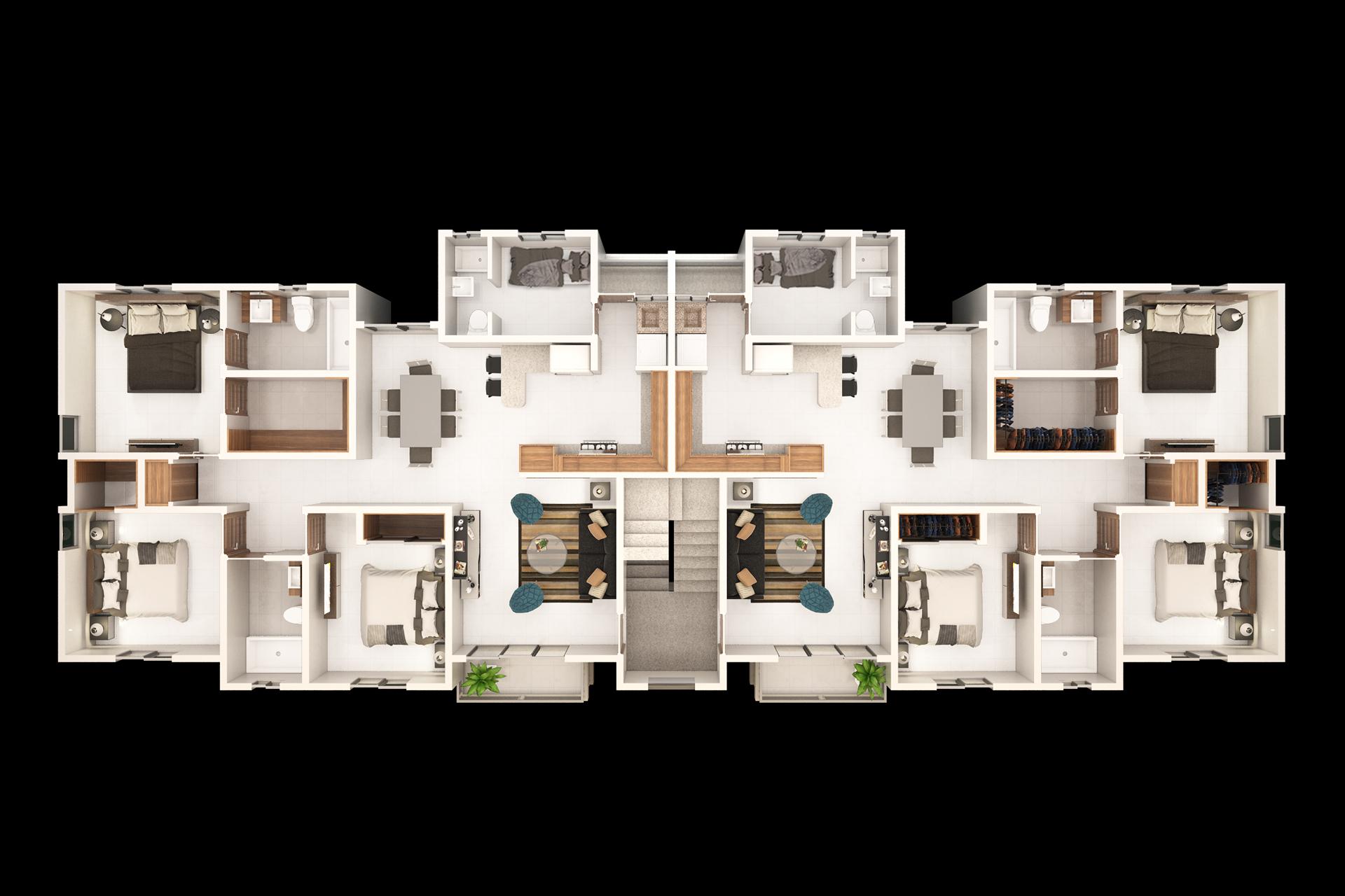 Comodo y Amplio Apartamento De Venta En Arroyo Hondo