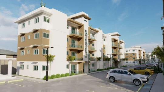 Apartamento con patlo y terraza en Urb. Amalia, Aut. San Isidro